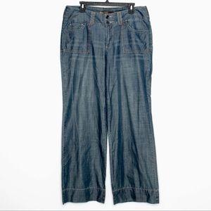 Tommy Bahama Wide Leg Trouser Jeans